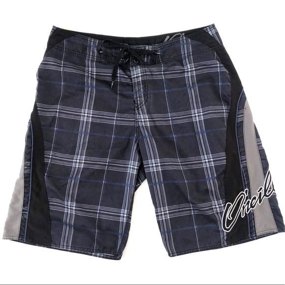 9d0492005e O'Neill Swim | Mens Oneill Plaid Board Shorts Size 34 | Poshmark